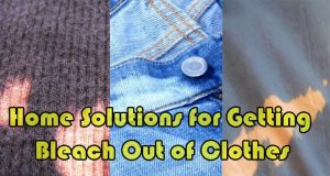 How to Getting Bleach Out of Clothes