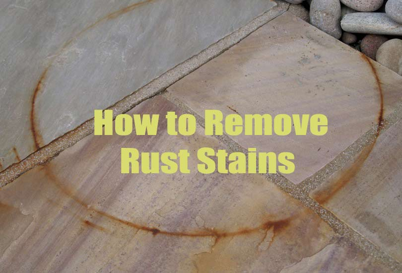 Home Remedies for Removing Stubborn Rust Stain Marks