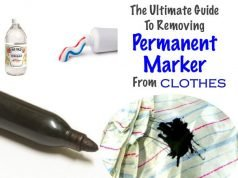 Ways to Remove Permanent Marker Stain from Clothes