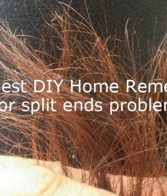 DIY Home Remedies to get rid of split ends problem