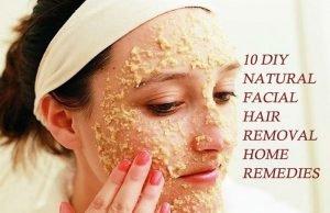 DIY Natural Facial Hair Removal Home Remedies