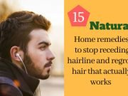Home remedies to stop receding hairline and regrow hair